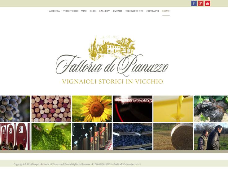www.fattoriadipianuzzo.com